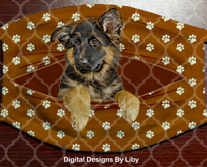 PEEK-A-BOO PETS GERMAN SHEPHERD (Center & Full Designs)