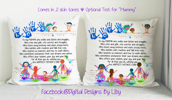 TO MY MOMMY/MUMMY (4 Designs for Mugs & Pillows+Bonus Mockups)