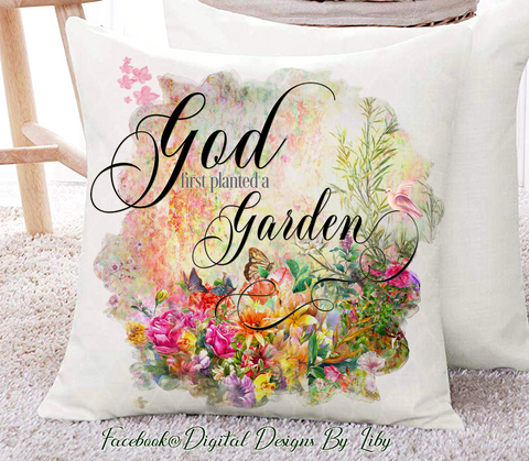 GOD'S GARDEN MEGA BUNDLE (Mug, Flag, Pillow, Coaster & more)