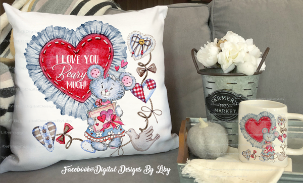 BEARY LOVE (Mug, Coaster, Pillow & More)