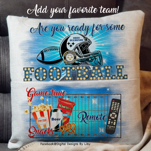 FOOTBALL NIGHT! (Book/Pocket Pillow & Blanket Design)