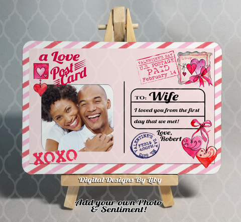LOVE POST CARD
