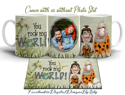 YOU ROCK MY WORLD! (Mug, Photo, Mouse & More Designs)