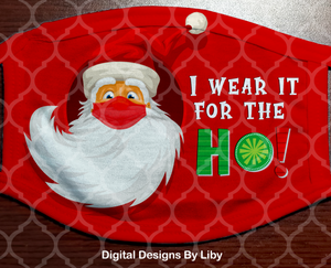 SANTA HO NAUGHTY (Center & Full Designs)
