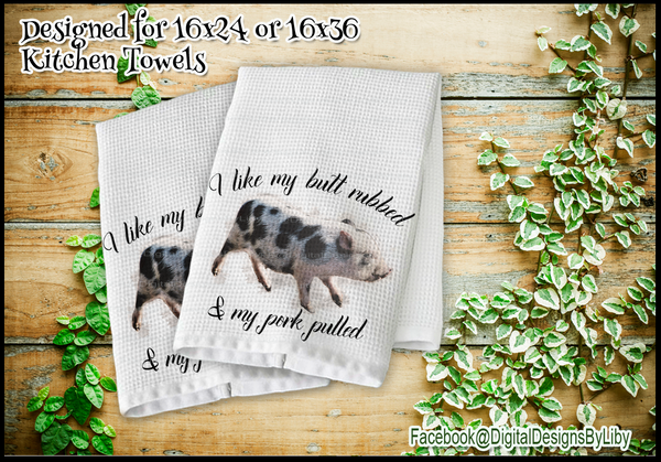 Kitchen Lovin Towel Collection  SET TWO (2 Towel Designs)