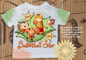FUTURE BASKETBALL STAR (Designs T-Shirt, Mugs & More!)