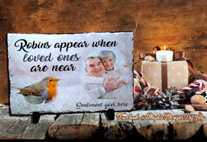 LOVE ONES ARE NEAR (Ornament & RECTANGULAR Slate Designs)