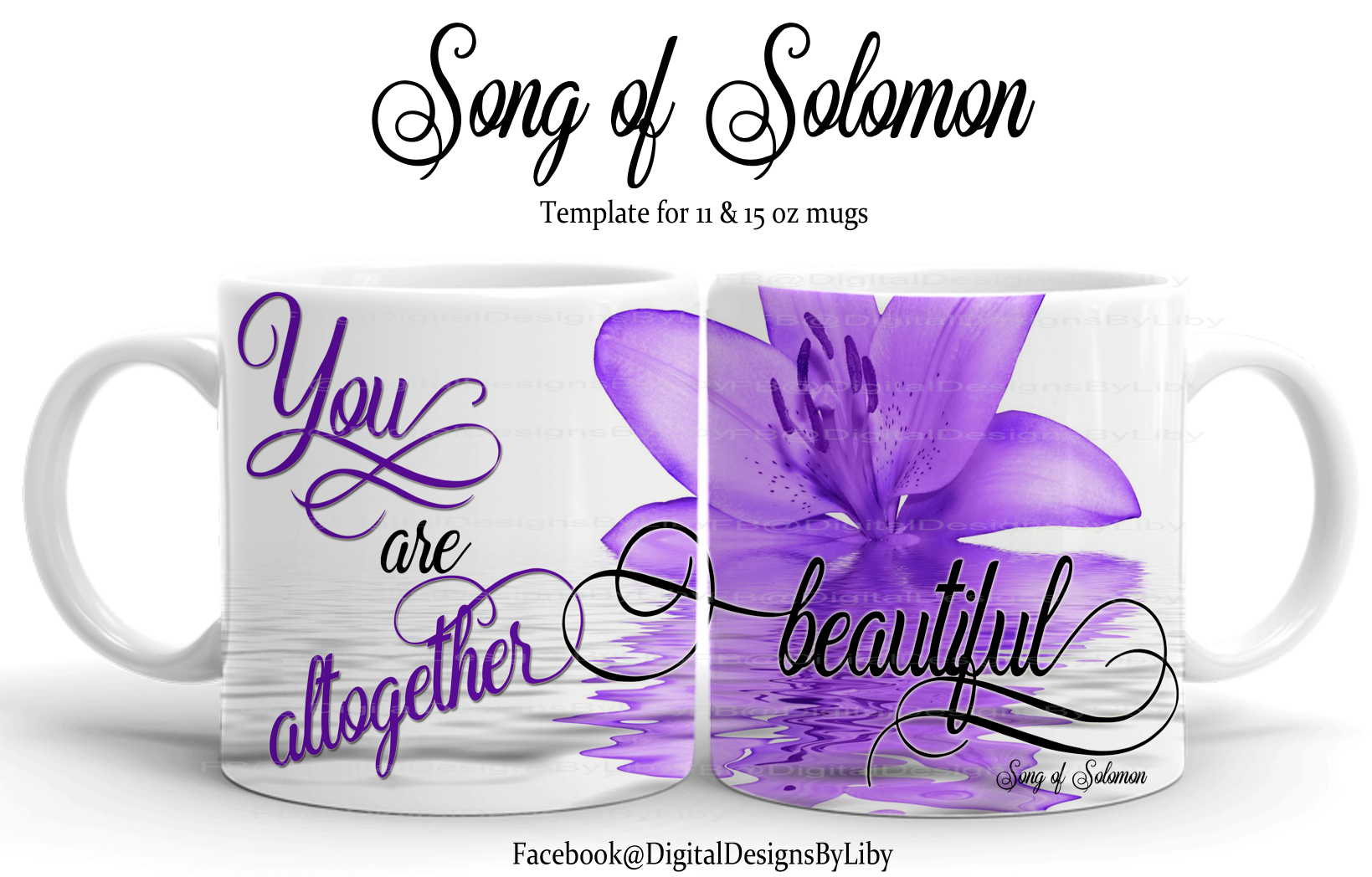 Song of Solomon Mug Template