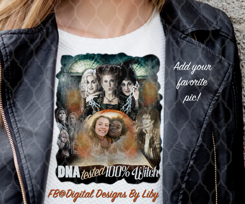 HOCUS POCUS DNA TESTED (T-shirt & More Design+BONUS MOCKUP)
