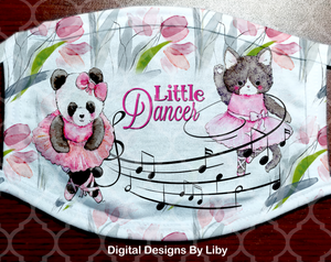 LITTLE DANCER (Full & Center Designs)