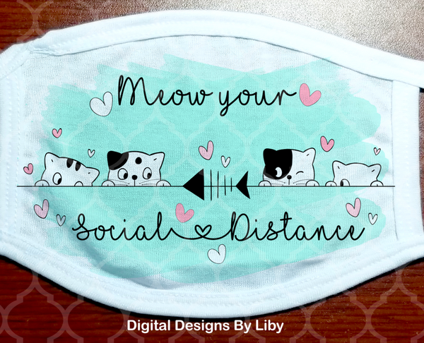MEOW YOUR SOCIAL DISTANCE