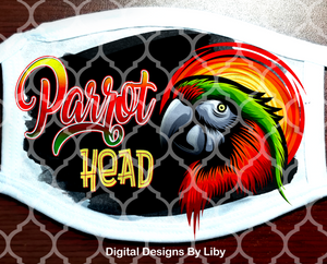 PARROT HEAD (2 Full & 2 Center Designs)