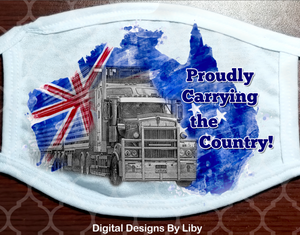 TRUCKERS PROUDLY CARRYING THE COUNTRY-Australia
