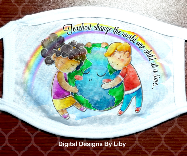 TEACHERS-DAYCARE PROVIDERS CHANGE THE WORLD (2 Designs Included)
