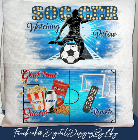 SOCCER OR REAL FOOTBALL NIGHT! (Book/Pocket Pillow & Blanket Design)