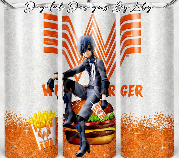 WHATABURGER CIEL 20oz SKINNY TUMBLER
