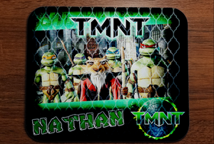 TMNT MOUSE PAD & MUG DESIGNS