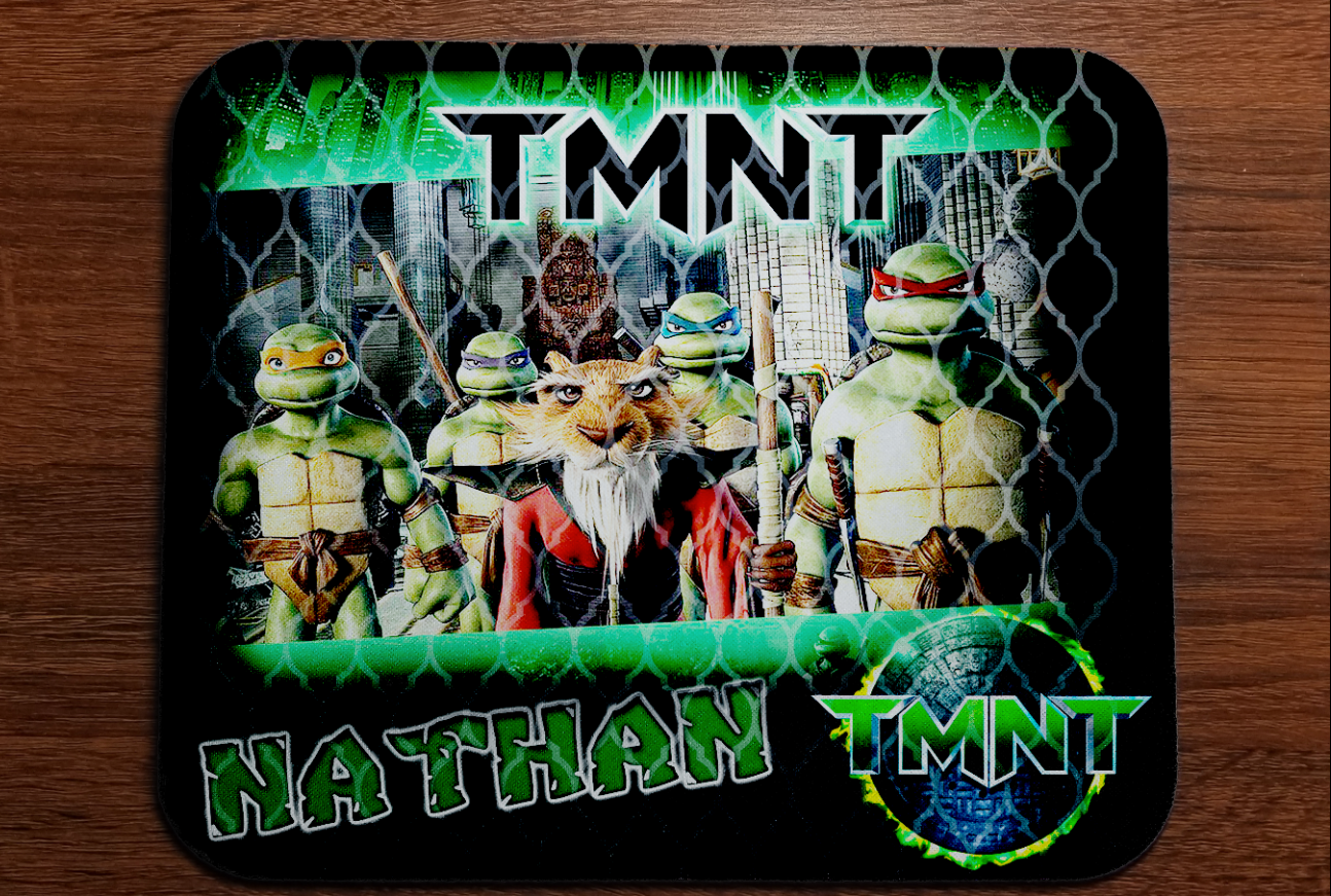 TMNT MOUSE PAD ONLY DESIGN