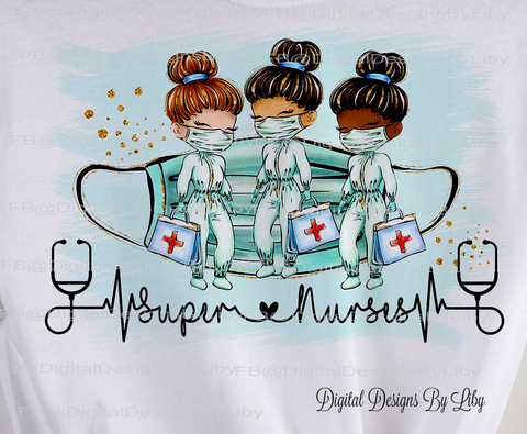 SUPER NURSES (T-Shirt & Mug Designs & More!)