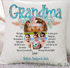 GRANDMA'S SPECIAL PILLOW (Design for Grandma & Grammy)