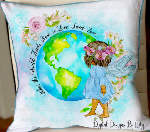 WORLD NEEDS LOVE (Designs for Mugs, T-Shirts/Pillows & More)