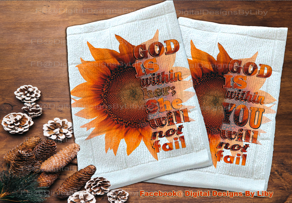 God Within Multi-Use BUNDLE (Perfect for T-shirt, pillows, flag, totes & mug)