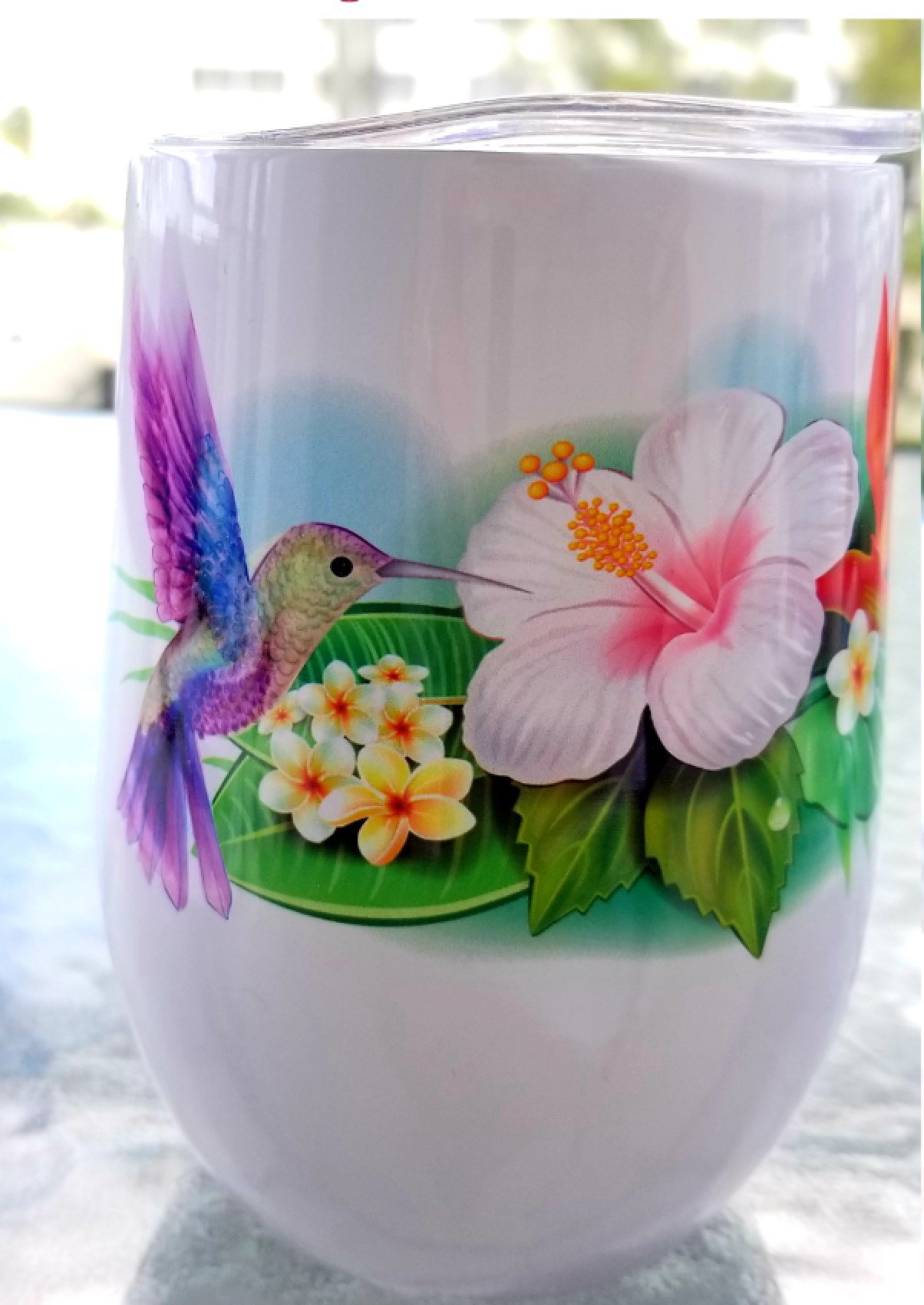 HUMMINGBIRD'S SONG (Wine Tumbler + Coffee Mug Designs)