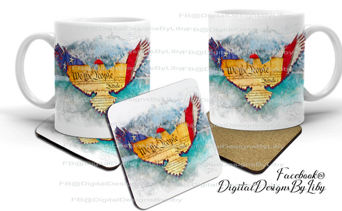 WE THE PEOPLE (Mug & Coaster Designs)