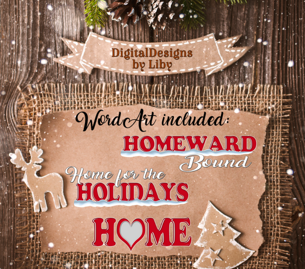 HOMEWARD BOUND CHRISTMAS (STATES N-Z)