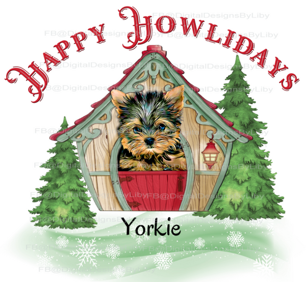 HAPPY HOWLIDAYS! (Choose from 40 breeds)