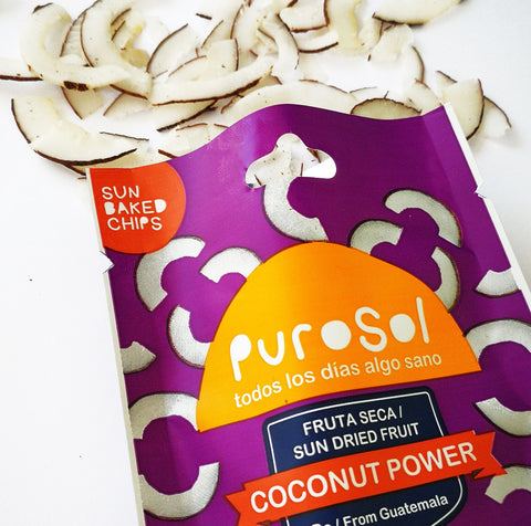 1.5 oz. of Coconut Power Snacks by PuroSol Snacks