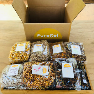 Sun Dried Cubed Lemon by PuroSol (217 gr.)-healthy snacks sun-dried in Guatemala, dehydrated fruits and herbs for all of your culinary creations