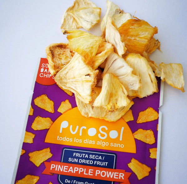 1.5 oz. of Pineapple Power Snacks by PuroSol Snacks