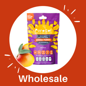 Wholesale Mango Power from PuroSol (Box of 4.56 Kgs)-healthy snacks sun-dried in Guatemala, dehydrated fruits and herbs for all of your culinary creations