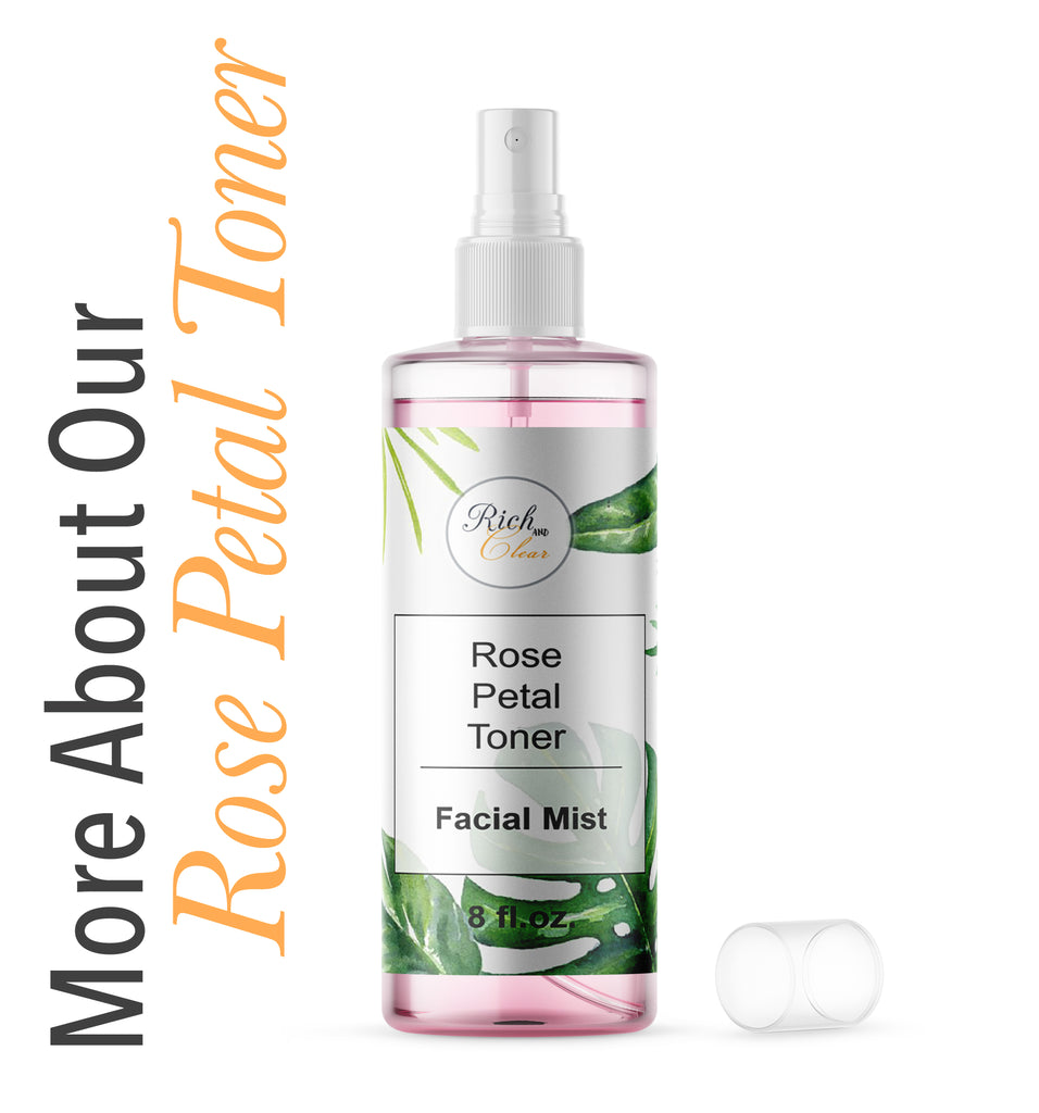 More About Our Rose Petal Toner