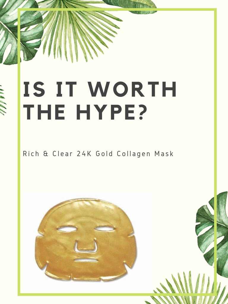 What's The Hype About? Our 24k Gold Collagen Mask