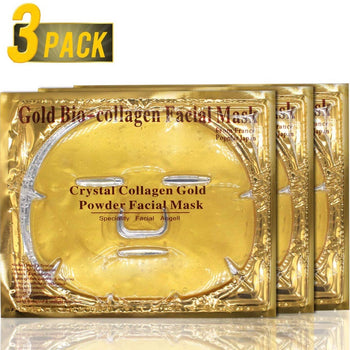 24K Rich & Clear Collagen Tightening Mask (3 Pack)