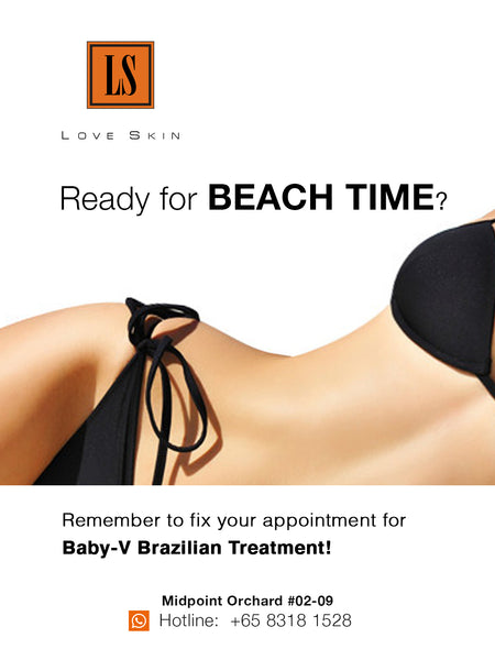 Baby-V Brazilian Treatment - Brighten, Hydrate, Smooth & FRESH!