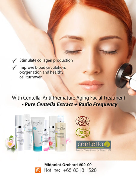 [S190027] Centella Anti-Premature Aging Facial Treatment - TACKLE the 4 signs that lead to Premature Aging!