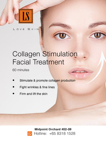 [S190002-60] Collagen Stimulation Facial Treatment - FIGHT the lines & wrinkles!