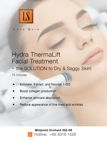 [S190012] Hydra ThermaLift Facial Treatment - the SOLUTION to Dry & Saggy Skin!