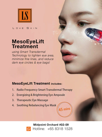 MesoLift Eye Contour Treatment - GOOD BYE Fine Lines & Dark Eye Circles!