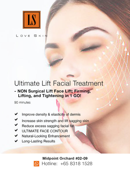 [S190013] Ultimate Lift Facial Treatment - NON Surgical Lift Face Lift; Firming, Lifting, and Tightening in 1 GO!