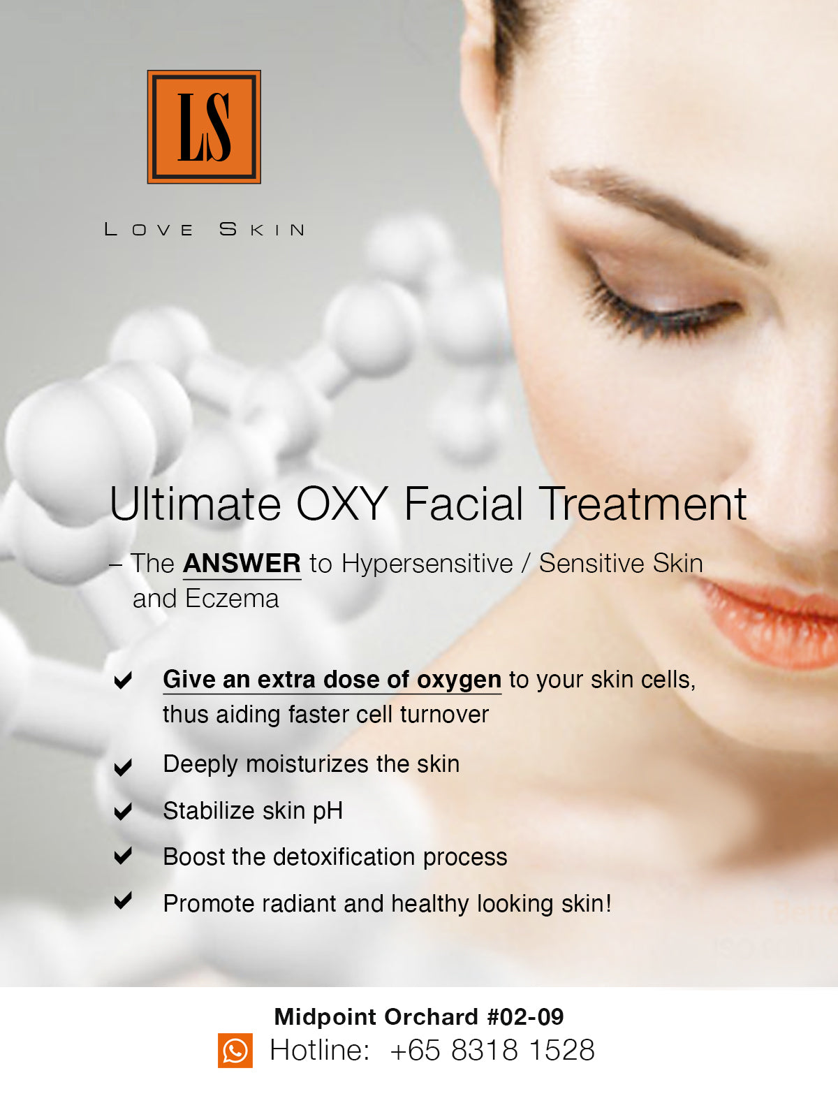 [S190014] Ultimate OXY Facial Treatment - Sensitive Skin Treatment with 7 GREAT Benefits!