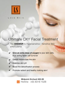 [S190014-90] Ultimate OXY Facial Treatment - Sensitive Skin Treatment with 7 GREAT Benefits!