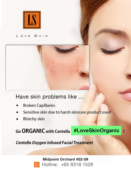 [S190024] Centella Oxygen Infused Facial Treatment - Use Pure OXYGEN to Treat broken capillaries, dry & dehydrated skin, and botchy skin