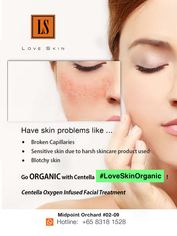 [S190024-60] Centella Oxygen Infused Facial Treatment - Use Pure OXYGEN to Treat broken capillaries, dry & dehydrated skin, and botchy skin