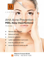 [S190009] AHA Acne Prevention Facial Treatment - PEEL Away Imperfections!
