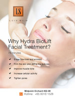 [S190015] Hydra BioLift Facial Treatment - Skin Tightening & Facial Muscles Strengthening