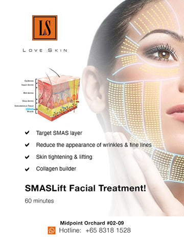 [S190001-60] SMASLift Facial Treatment – Achieve baby smooth skin! Banish lines & wrinkles!